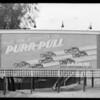 Signboards, West Washington Boulevard & South La Salle Avenue, Wilshire Boulevard & South Hobart Boulevard, Los Angeles, CA, 1930