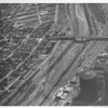 Aerial view of the Los Angeles River