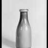 Bottle of milk, Southern California, 1931