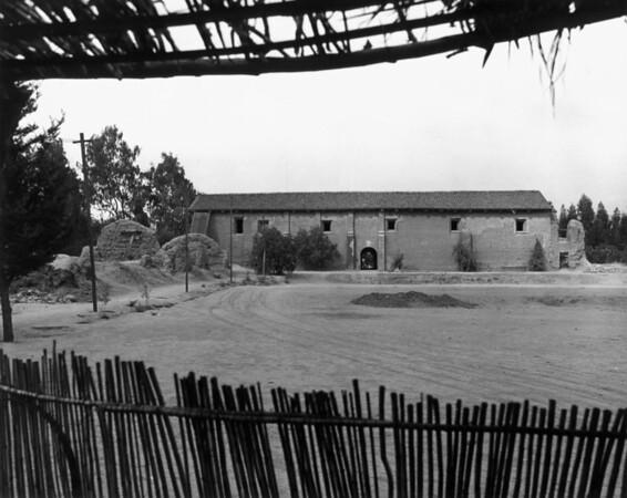 A San Fernando Mission building
