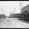 Intersection, West 23rd Street & South Vermont Avenue, Los Angeles, CA, 1929
