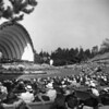 A view from the audience during a Hollywood Bowl concert