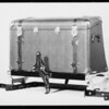 Ford trunks, racks, mirrors, windwings, etc., Southern California, 1929
