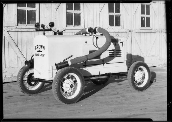 Spray gun machine, Crown Body Corporation, Southern California, 1935