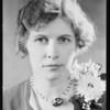 Pearl Carter, Southern California, 1930
