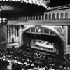 Inside view of theatrical stage