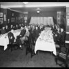 Penn Mutual Life banquet, blue room of Los Angeles Athletic Club, Los Angeles, CA, 1930
