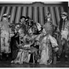Chinatown in 1948, Chinese Theater in 1948, performance, performers, dance, costumes