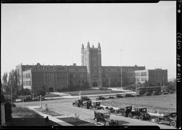 Los Angeles High School, Los Angeles, CA, 1924