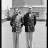Ushers uniforms, RKO and Orpheum, Southern California, 1931