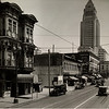 Facing north on South Main Street between First Street and Second Street in Downtown Los Angeles