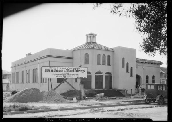 Church at 2912 Guirado Street, Los Angeles, CA, 1926