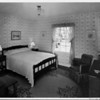Bedroom interior of 1948, interior residential home