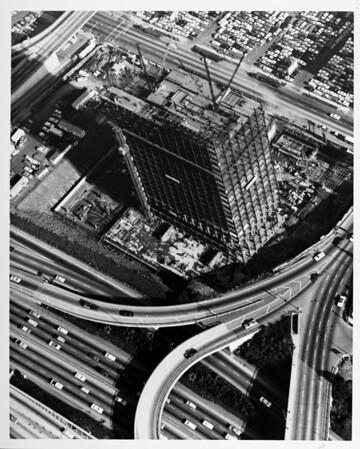 Harbor Freeway and Fifth Street interchange