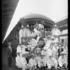 Hoover men at station, Southern California, 1926
