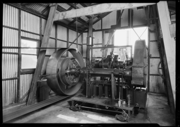 Pomona Pump Installation at Orange, Southern California, 1926