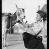 Glen & Edward & animals, Southern California, 1931