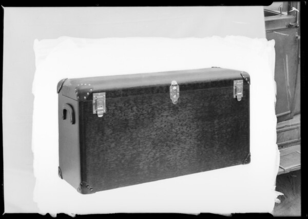 Trunks for auto, Lambert Incorporated, Southern California, 1926