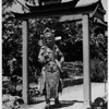 Female in costume in 1948, Chinatown in 1948