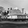 """American Legion parade, Long Beach, float from Nevada, """"The Tax Free State,"""" featuring Mount Wheeler and Nevada's ranching and mining industries"""