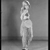 Lavina in gypsy outfit, Southern California, 1930