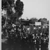 Coliseum crowds at entrance gate