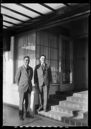 Santa Monica Athletic Club, Mr. Kennedy, Manager, Santa Monica, CA, 1927