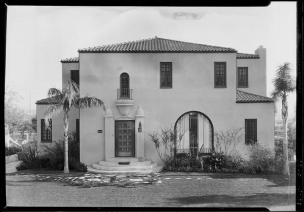 344 Kenneth Road, Glendale, CA, 1927
