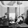 Upstairs, Hotel Figueroa, Los Angeles, CA, 1926