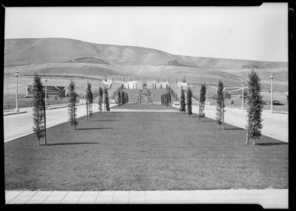 New shot parkway, 'Midweck View', Southern California, 1929