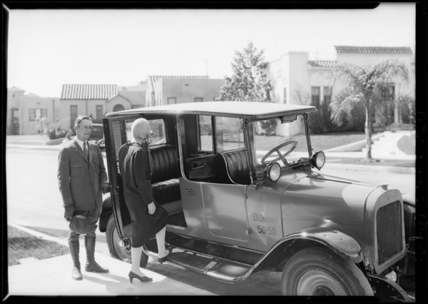Yellow Cab Co. for Yellowgram, Southern California, 1926