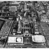 Temple Street and First Street, Civic Center, Music Center, City Hall, Federal Buildings, Temple Street, First Street, North Hope Street