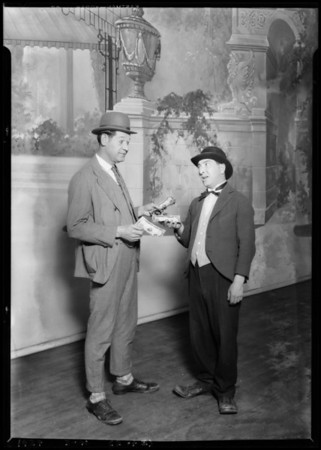 Bill Meikeljohn Show at Bard's Theater, Southern California, 1927