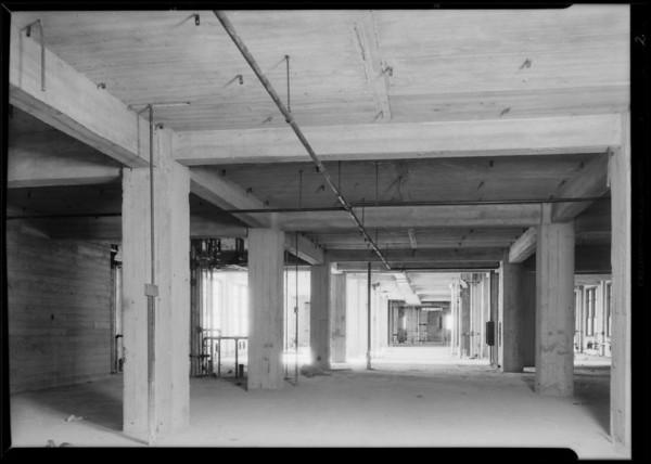 Installations at County Hospital, Mark Pump Co., Los Angeles, CA, 1930