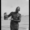 "Catalina Channel swim, ""Happy Jack"" Wolyniec, California Crushed Fruit Co., Southern California, 1927"