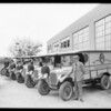 Paramount Laundry trucks, Southern California, 1925