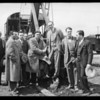 Ground breaking for Hattems, new market on Vermont Avenue, Southern California, 1930