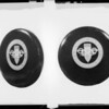 Tire cover, Olympic Games 1932, Southern California, 1931