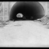 Figueroa Street tunnel entrance, Southern California, 1931