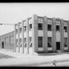 Building on East 49th Street, Los Angeles, CA, 1931