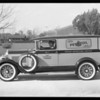 New advertising car, Pennzoil Oil Co., Southern California, 1930