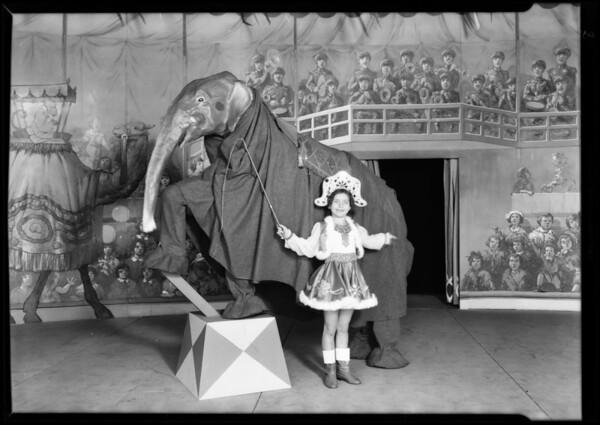 May Co. circus, Southern California, 1930