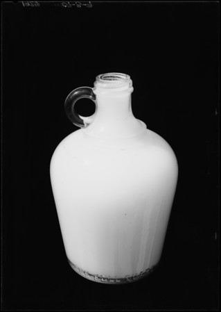 Glass jug for Mr. Hennesy, Southern California, 1926