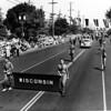 American Legion parade, delegation from Wisconsin