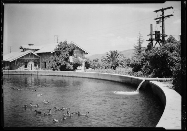 Pomona Pump installations around Pomona etc., Southern California, 1926