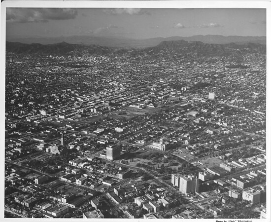 Lafayette Park, Wilshire Boulevard, Hoover Street, Hollywoodland Sign