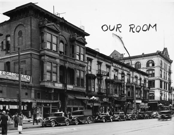 Office / retail buildings in Downtown Los Angeles, ca.1920-1940