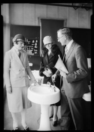 Haverty plumbing, Southern California, 1926
