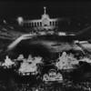 Night scene of Shriner's event at the Coliseum