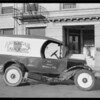 Laundry truck, Union Auto Insurance, Southern California, 1926
